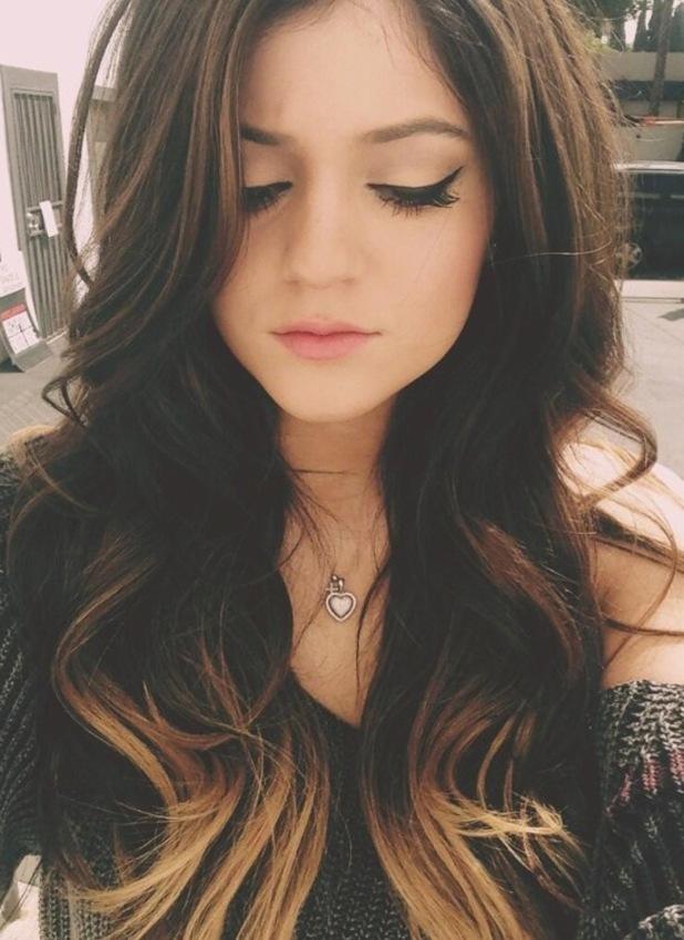 Kylie Jenner Twitter Ombre Hair Lifelaughslipstick
